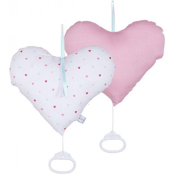 #LittleDutch #Muziekdoosje #Hart - little #hearts #music box #girlsroom #girlsmusthave #baby #nursery #littlethingz2