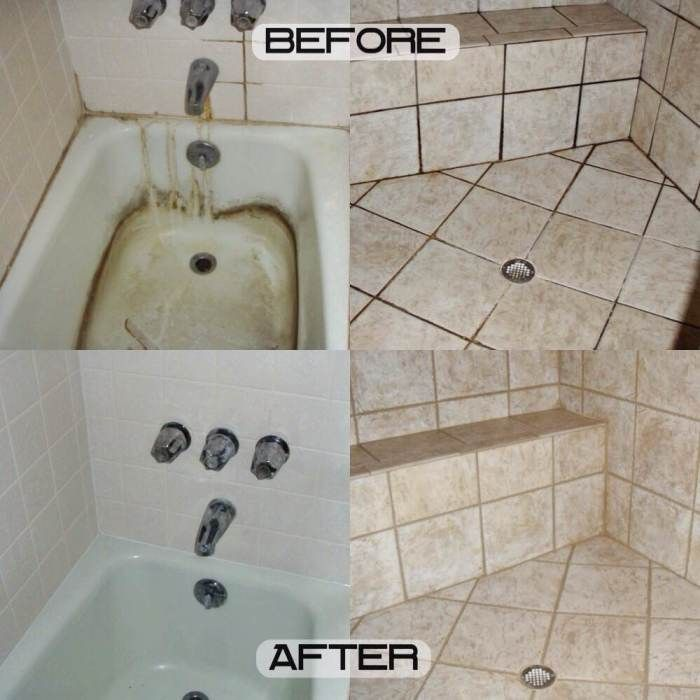3 Ingredient Grout And Tiles Cleaner! Make Your Grout Look Like New! And Tips On How To Keep It Spotless!