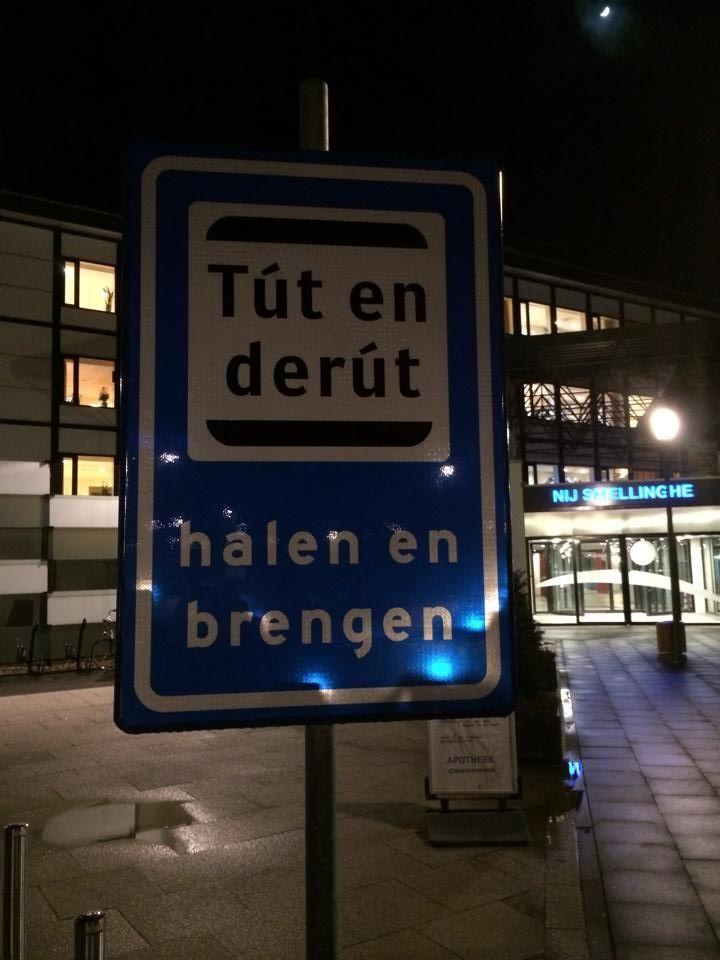 "Friese ""kiss and ride"": ""Tút en der út"""