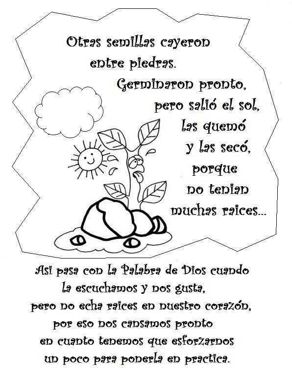 Fuente: dibujosparacatequesis                        Fuente: elrincondelasmelli           Un día se congregó un gran número de...