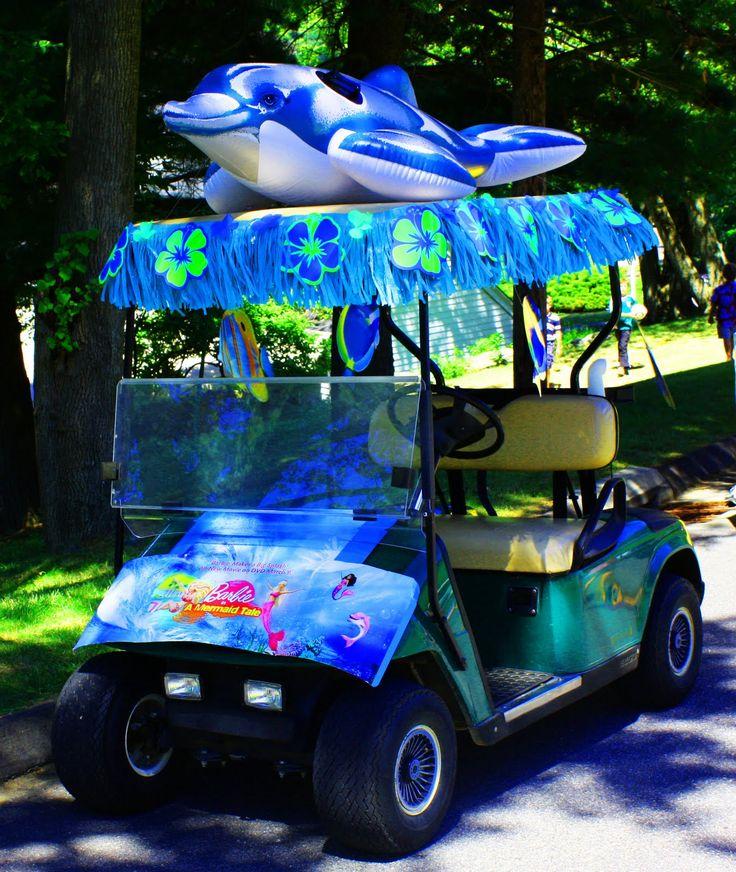 Golf cart parade happy th of july