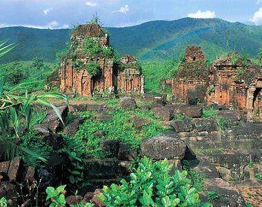My Son Sanctuary - Vietnam; UNESCO world heritage.