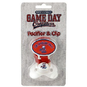 University Of Mississippi 'Ol Miss Infant Pacifier Case Pack 48