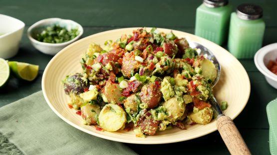 Geladener Guacamole-Kartoffelsalat   – Soups and Salads