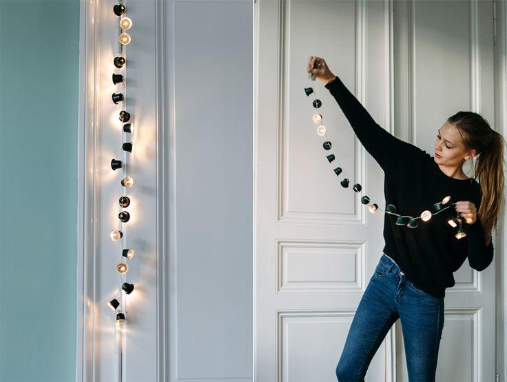 ber ideen zu lichterketten auf pinterest einrichten wohnen led und beleuchtung. Black Bedroom Furniture Sets. Home Design Ideas