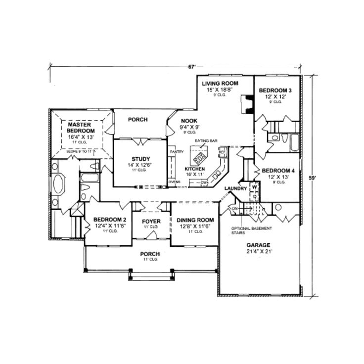 52 Best Home House Plans Images On Pinterest