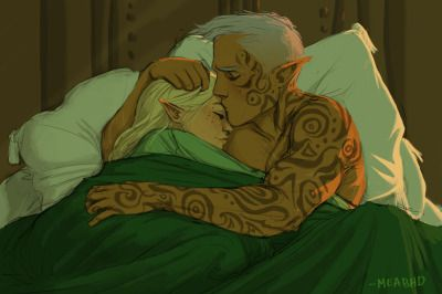 Rowan and Aelin