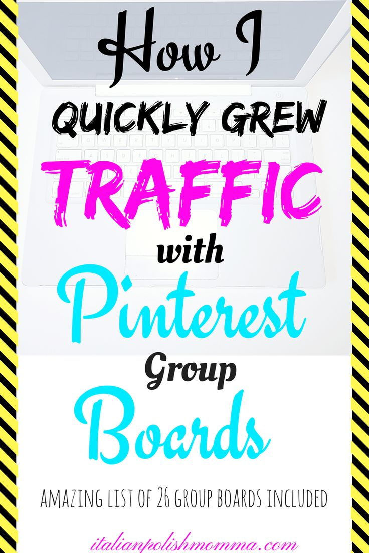 Pinterest Groups Boards