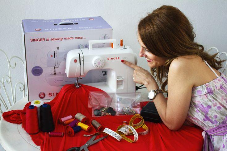 Oggi sul mio blog vi racconto tutto su Shopty.com e sulla macchina da cucire Singer che ho testato realizzando una gonna a ruota con pieghe. Non perdetevelo
