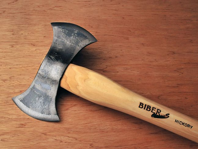 Old Felling Axe Peice: Gransfors Bruks Double Bit Felling