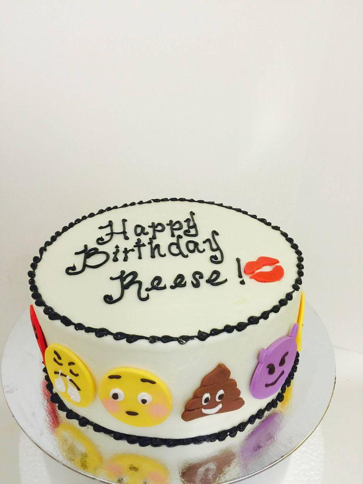 Emoji Birthday Cake Sugarnomics Cake Studio Guam