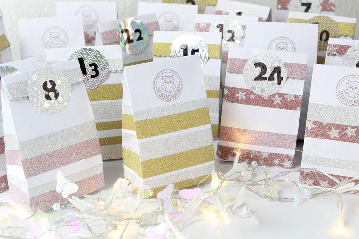 DIY: Adventskalender & Geschenktüten aus Briefumschlägen selbst herstellen :)
