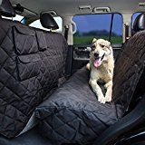 Pet Seat Cover XL  Extra-Large Dog Seat Cover 96x56 for Any Cars Trucks SUVs Waterproof Nonslip No Odor Seat Anchors by Tapiona Luxury Pet