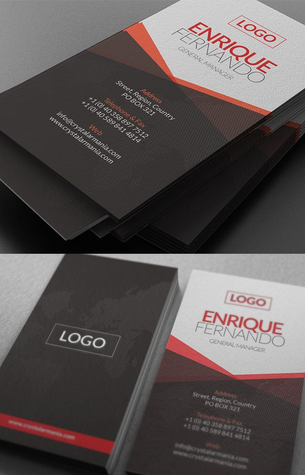 182 best cards & papers images on Pinterest | Business card design ...