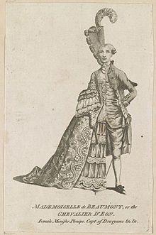 Chevalier d'Éon - Wikipedia, the free encyclopedia