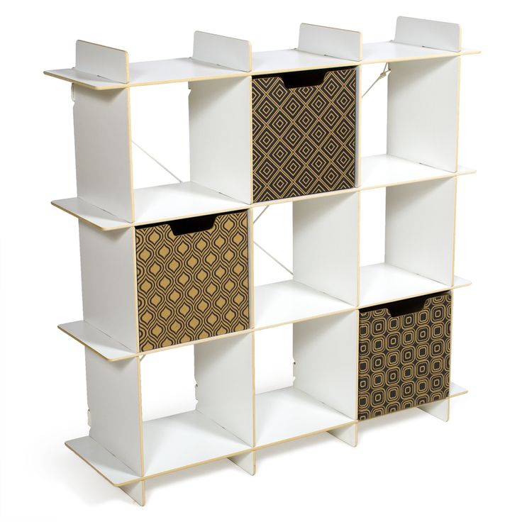 Modern 9 Cubby Storage Shelves Sprout Curious George