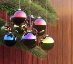 Christmas Decoration Wallpaper for Android #xmas #redrawkeyboard #winter