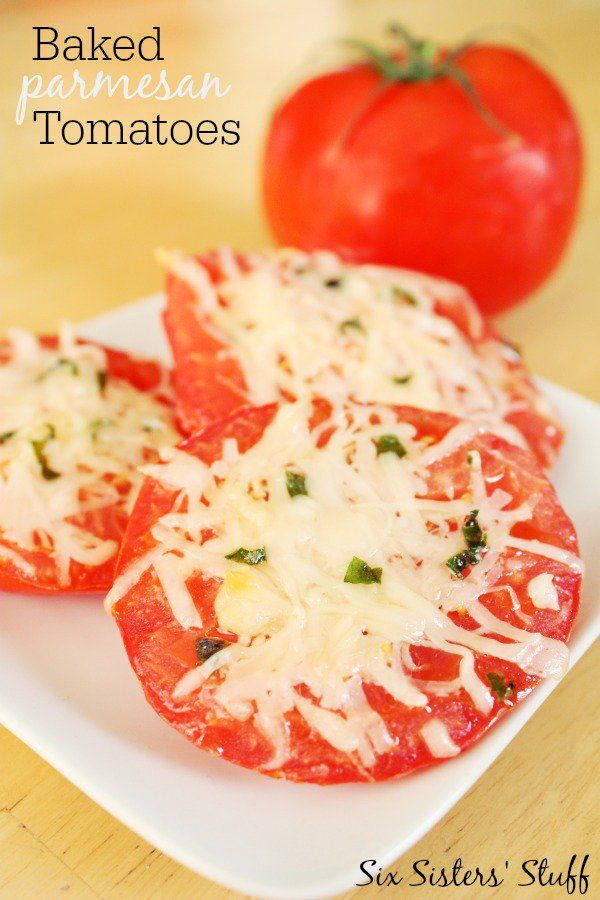 25+ best ideas about Baked parmesan tomatoes on Pinterest ...