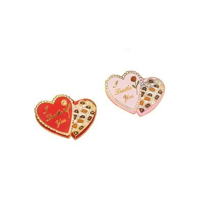 "HOME :: Pins & Patches :: Lapel Pins :: I Loathe You Valentine 1.5"" Enamel Lapel Pin"