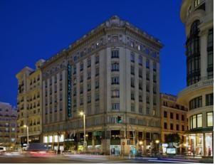 Tryp Madrid Gran Vía Hotel a 3 stelle  Stile boutique  Gran Vía, 25, Madrid centro, 28013 Madrid, Spagna