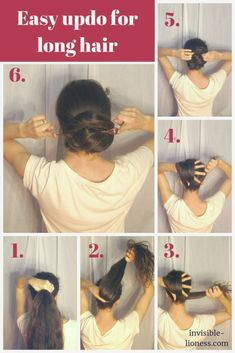 6 fast and straightforward hairstyles for lengthy hair to do your self