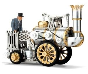 Stephenson's Rocket Stirling Engine