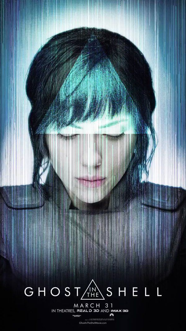 Scarlett Johansson is Major. #GhostInTheShell