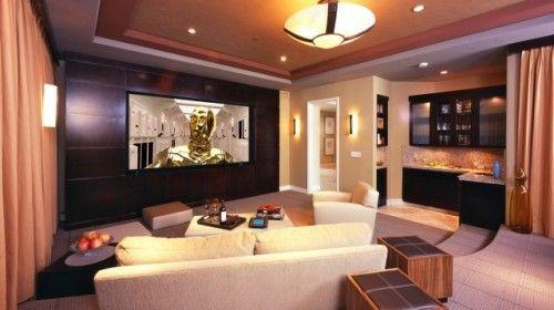 Media RoomMovie Room, Ideas, Home Theaters, Theater Rooms,  Home Theatres, Bar Area, Media Rooms, Dark Wall, Home Theater Room