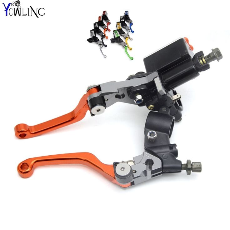 44.58$  Buy here - Dirt Bike Clutch&Brake lever with Cylinder Pump For with KTM logo 350XCFW 350EXC-F 350EXCF 400XC-W 400XCW  #SHOPPING