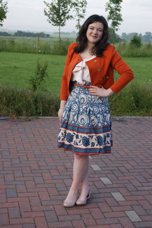 Très Très Chic at Work: Summer Style at UK Publishing Firm | CareerBliss.comAnonymous, Summer Styles, Autumn Outfits, Perfect Autumn, Burnt Orange, Cute Outfits, Blog, 2Dayslook Autumn, Offices Fashion