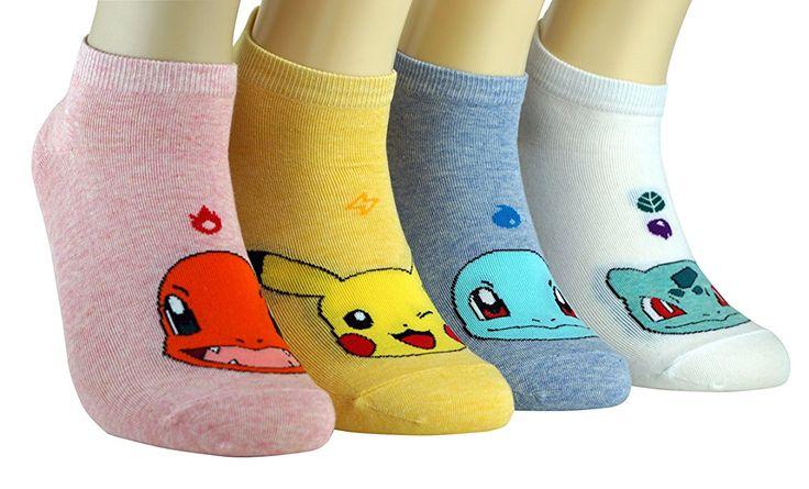 Women Socks Cotton Brand (pokemon): Amazon.co.uk: Clothing
