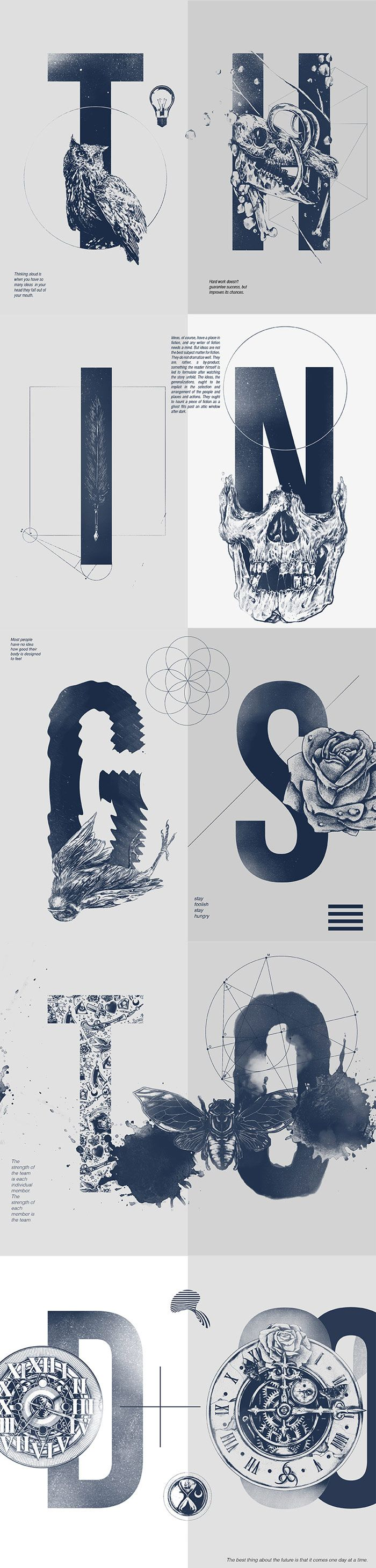 Things to Do by Ominous Cahya Sofyan #Typography