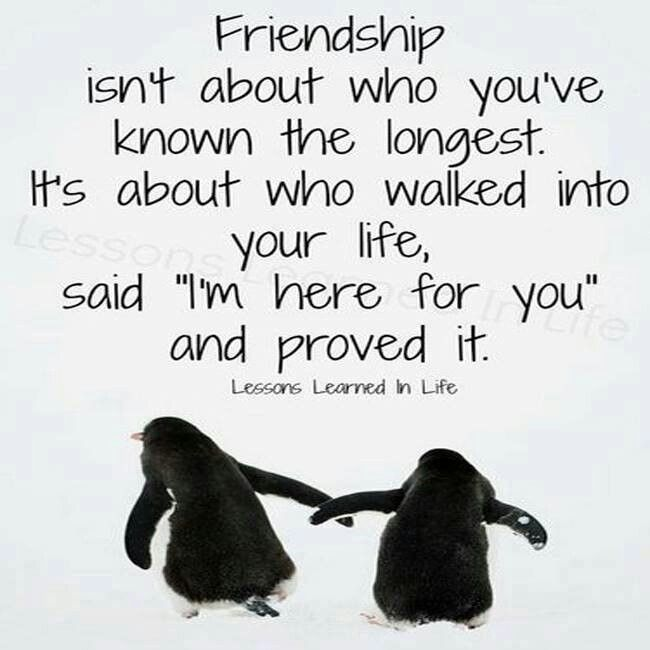 Friends.....only keep the good ones around
