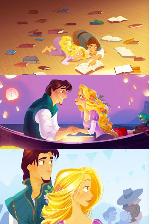 tangled art by brittany lee