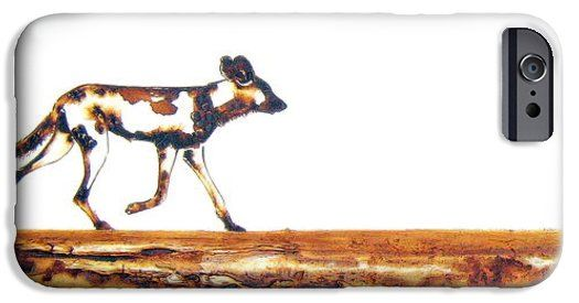 Endangered African Wild Dog iPhone 6 Case by Tracey Armstrong