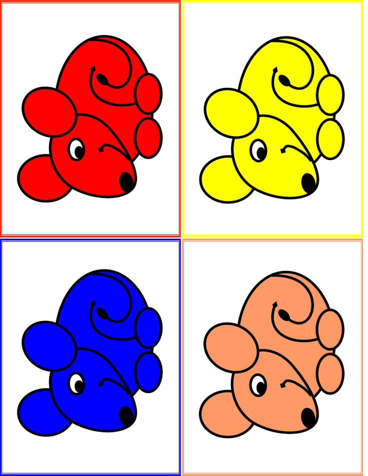 mouse paint activity to go w/ story
