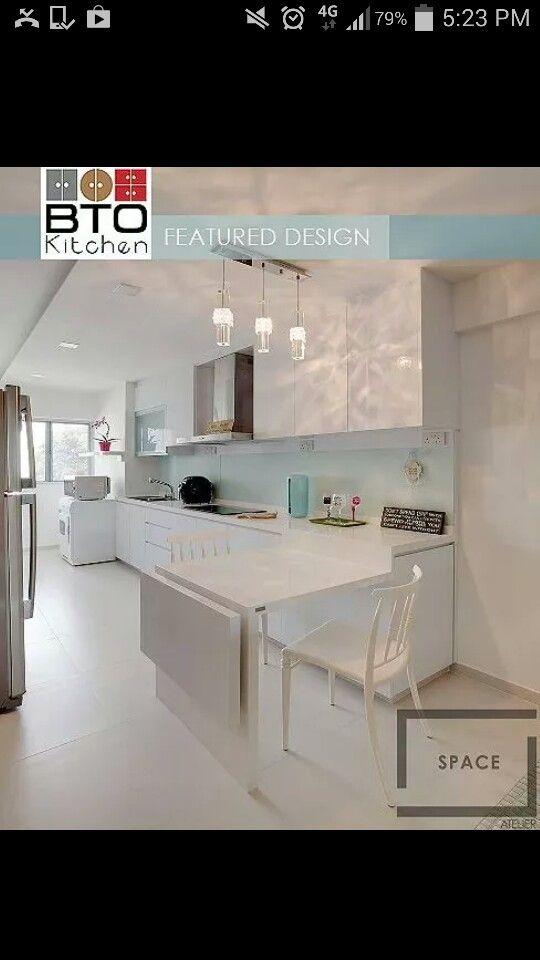 Kitchen Design For Bto My Home Pinterest Kitchens