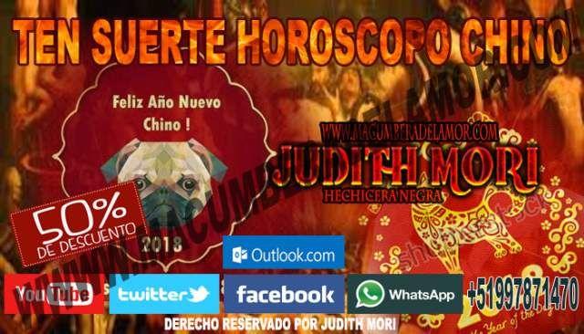 TEN SUERTE EN EL AMOR CON EL HOROSCOPO CHINO JUDITH MORI (LIMA)