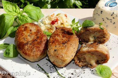 Di gotuje: Kotlety mielone z czarnuszką i serem korycińskim