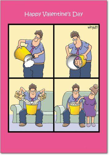 popcorn touch valentines day joke card nobleworkshttpwwwamazon - Valentine Jokes Funny