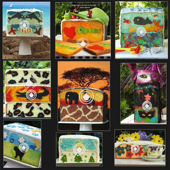 Inside Surprise Pictures Inside Cake Tutorial