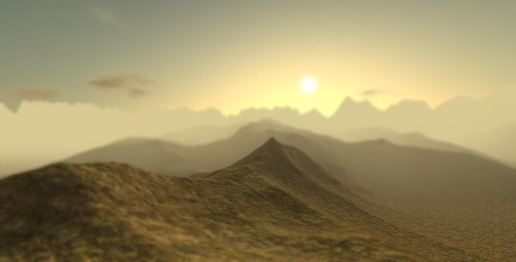 More work on the terrain generator