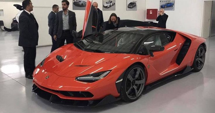UAE Sheikh Takes Delivery Of First Lamborghini Centenario #Lamborghini #Lamborghini_Centenario