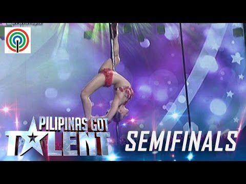 Pilipinas Got Talent Season 5 Live Semifinals: Celine Velayo - Pole Dancer