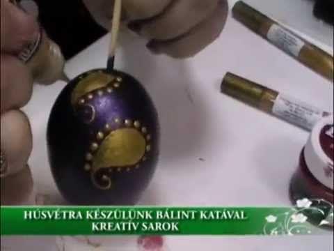 Húsvétra készülünk Bálint Katával - Kreatív sarok