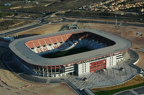 New Condomina Stadium (Murcia, Spain). Estádio do Real Murcia, Espanha. Capacidade: 31.179