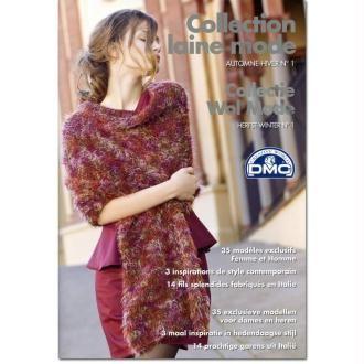 Catalogue tricot DMC - Collection laine mode n°1 - Automne / hiver 35 modèles