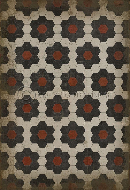 Pura Vida Home Decor - Pattern 2 Organic Synthesis vinyl floor cloth, $49.00 (http://stores.puravidahomedecor.com/pattern-2-organic-synthesis-vinyl-floor-cloth/)