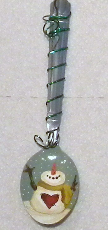 Wired+Spoon+ornament