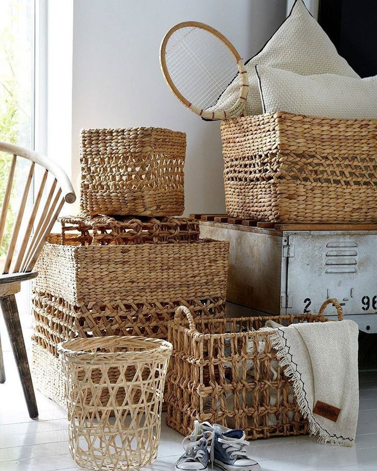#straw #wicker #hamper #decorative #interior #interiordesign #aw1617 #hasır #sepet #dekoratif #dekorasyon #trend